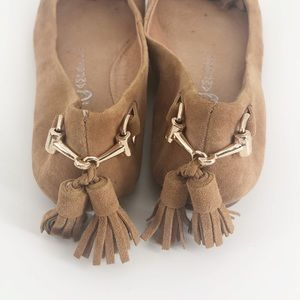 Jeffrey Campbell Shoes - Jeffrey Campbell Ibiza Gabi Suede Flats